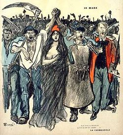 1871 La Commune de Paris - Steinlen 1894