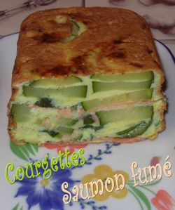 Terrine de courgettes au saumon4