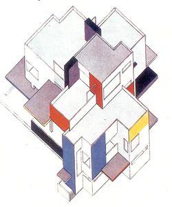 Van Doesburg et Van Eesteren - Projet de maison