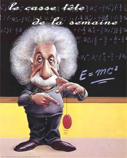 einstein cartoon