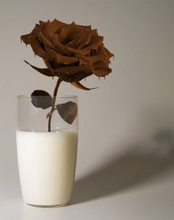 food art rose en chocolat