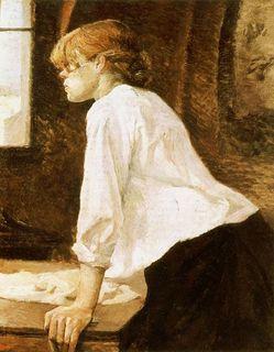 Valadon par Toulouse Lautrec