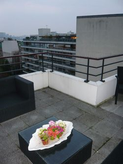Terrasse nue avant intervention