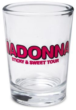 Madonna Official Store: Sticky & Sweet Tour Logo Shot Glass