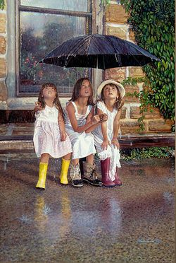 steve hanks art work com summer rain