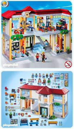 l 39 cole de playmobil d s 6 ans le blog de kidissimo. Black Bedroom Furniture Sets. Home Design Ideas
