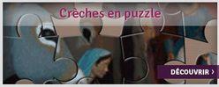 Crèches en puzzle