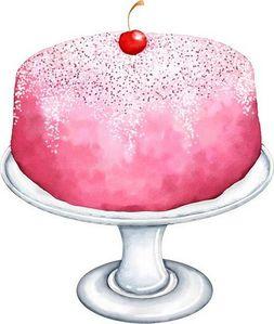 Pink Pedestal Cake