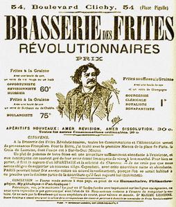 clichy frites révolutionnaires