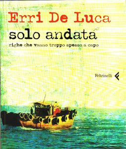Erri De Luca solo andata copertina 1