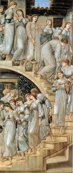 254px-Edward Burne-Jones The Golden Stairs