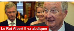 abdication du Roi Albert II. Capture RTBF cheikfitanews
