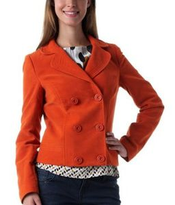 veste-caban-ultra-courte-orange-promod 69.95