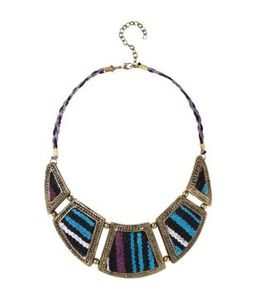 collier-azteque-femme-turquoise promod 14.95