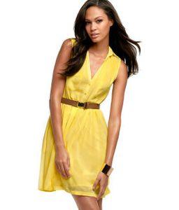 robe jaune hm 29.95