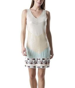 robe-retro-imprime-sable- promod 49.95