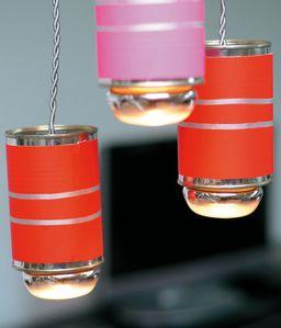 r cup boite de conserves pourquoi pas une lampe carolyne 39 s home. Black Bedroom Furniture Sets. Home Design Ideas