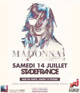 Madonna StadeDeFrance 2012