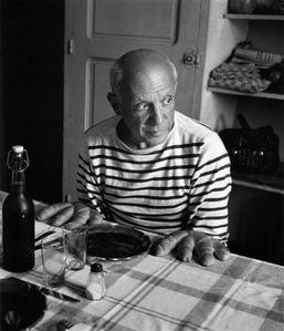 Robert-Doisneau-Les-pains-de-Picasso-Vallauris-1952-BD