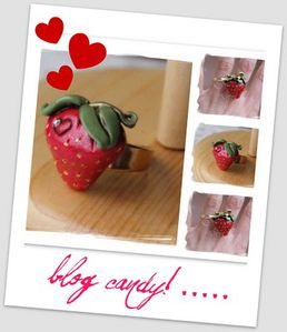 blog candy!strawberry