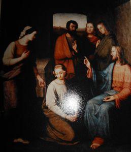 Die Darstellung Jesus von Christian Roßtäuscher (1805-183