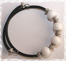 Bracelets perles & métal 6159