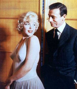 Let's make love le milliardaire Marylin Monroe Yves Montand