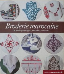 broderie marocaine - marie-claire