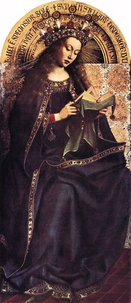 The Ghent Altarpiece Virgin Mary