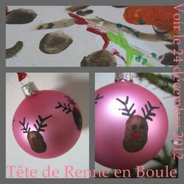 boule de noel a peindre. Black Bedroom Furniture Sets. Home Design Ideas
