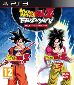 DBZ Budokai HD Collection jaquette PS3