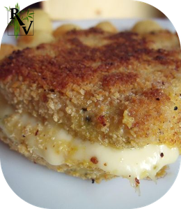 Cordon bleu v g tarien au tofu recettes v g tariennes - Cuisson cordon bleu a la poele ...