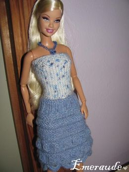 Tricot Barbie,jupe et top-12-01-05-03