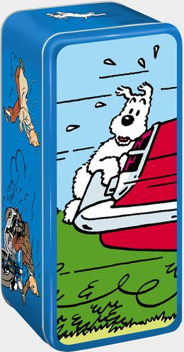 Delacre Shoebox Tintin 2013 3D-milou LR