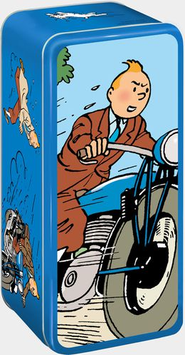 Delacre Shoebox Tintin 2013 3D-tintin LR