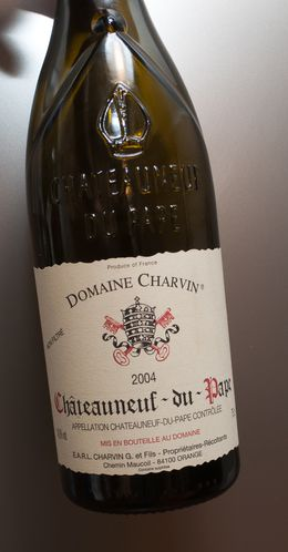 chateauneuf du pape 2004 Charvin