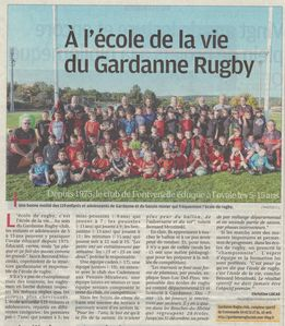 le gardanne rugby club a l 39 honneur sur le journal la provence le 18 11 2012 gardanne rugby. Black Bedroom Furniture Sets. Home Design Ideas