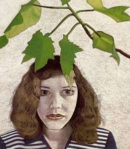1948 Freud Girl with leaves Moma NY