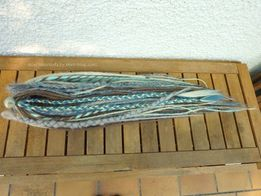 dreads synthetiques chatain platine turquoise gris3