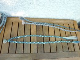 dreads synthetiques chatain platine turquoise gris4