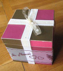 mariage deco drag es et boite cadeau le blog de carine carakter 39 scrap champagne sur seine. Black Bedroom Furniture Sets. Home Design Ideas