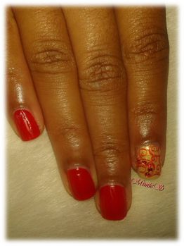 accent stamping