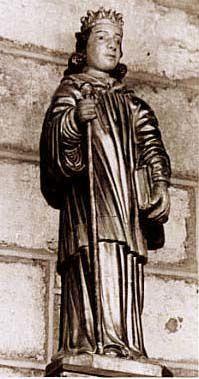 saint geraud statue