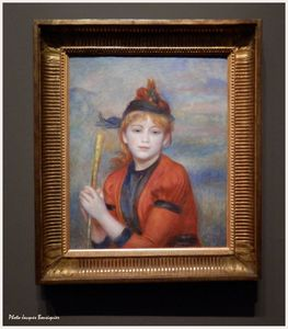 L excursionniste Renoir Musee Luxembourg