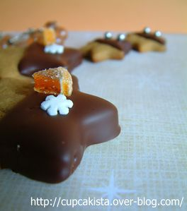 Gingerbread Chocolate Orange Stars-5