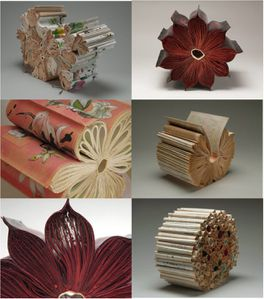 Sculptures en livre Book and buzz