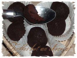 truffes hot au chocolat