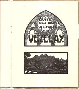 Nigaud-Vezelay Bois Frontispices