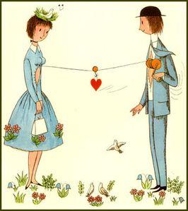 Peynet amoureux...3