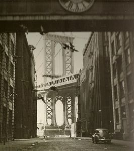 Manhattan Bridge 1937 Kertesz